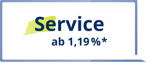 Immobilienmakler Service ab 1,19%*